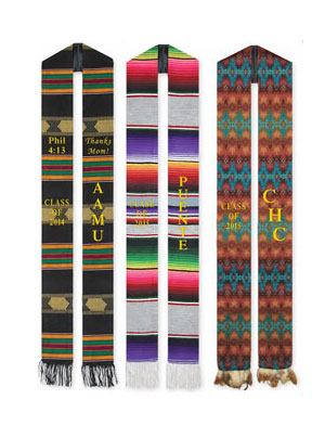 ethnic graduation sashes